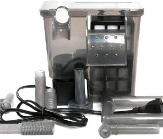 Hang On Back HF - 301 Power Aquarium Filter (Biological Filtration for Salt Water and Fresh Water) filter parts