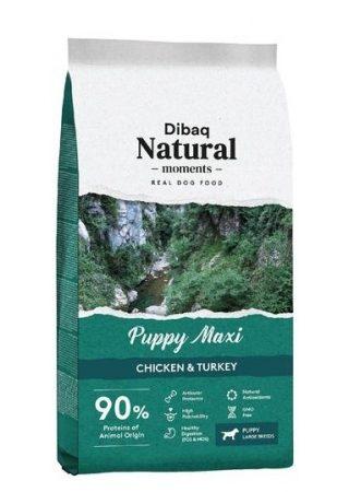 Dibaq Natural Moments Puppy Maxi (Chicken & Turkey) – 3 kg