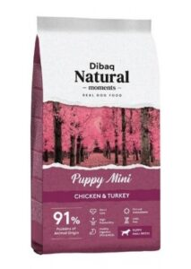Dibaq Natural Moments Puppy Mini (Chicken & Turkey) – 3 kg